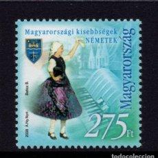 Sellos: HUNGRIA 4270** - AÑO 2008 - MINORIAS ETNICAS DE HUNGRIA. Lote 178886516