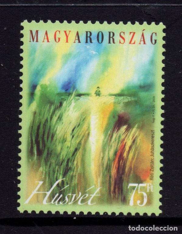 HUNGRIA 4311** - AÑO 2009 - PASCUA (Sellos - Extranjero - Europa - Hungría)