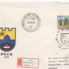 Sellos: SOBRE MATASELLO ESPECIAL HUNGRIA 1974. Lote 184638841