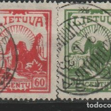 Sellos: LOTE M-SELLOS LITUANIA 1921. Lote 189677571