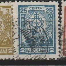 Sellos: LOTE M-SELLOS LITUANIA 1921. Lote 189677650