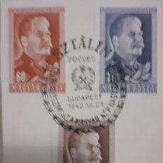 Sellos: VENDO SELLOS STALINE 1949. Lote 194881003