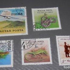 Sellos: LOTE SELLOS DE HUNGRIA - (MAGYAR POSTA). Lote 199409851