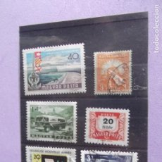 Sellos: HUNGRIA-SELLOS USADOS. Lote 200567106