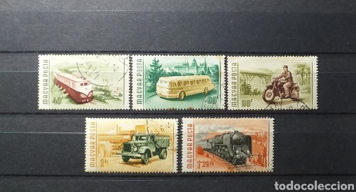 SERIE SELLOS HUNGRÍA 1955 (Sellos - Extranjero - Europa - Hungría)