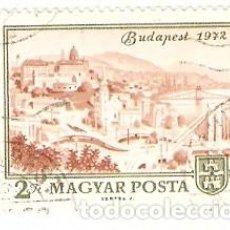 Sellos: SELLO USADO HUNGRÍA. YVERT Nº 2268. ANIVERSARIO DE BUDAPEST. REF. 2HUN-2268U. Lote 206928447