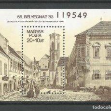 Sellos: SELLOS DE HUNGRÍA AÑO 1983. HOJA BLOQUE Nº 169 CATÁLOGO YVERT, NUEVA. Lote 211433895