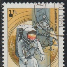 Sellos: HUNGRIA 1982 SCOTT 2744 SELLO * ANIV. VIAJES ESPACIALES APOLO 11 1969 NEIL ARMSTRONG MICHEL 3558A. Lote 221804635