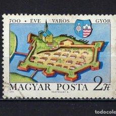 Sellos: 1971 HUNGRÍA MICHEL 2660 YVERT 2150 700 ANIVERSARIO DE GYÖR - USADO. Lote 228356600
