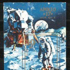 Sellos: HUNGRÍA, 1972, APOLLO 17, ESPACIO, NUEVO SIN GOMA. Lote 232885425