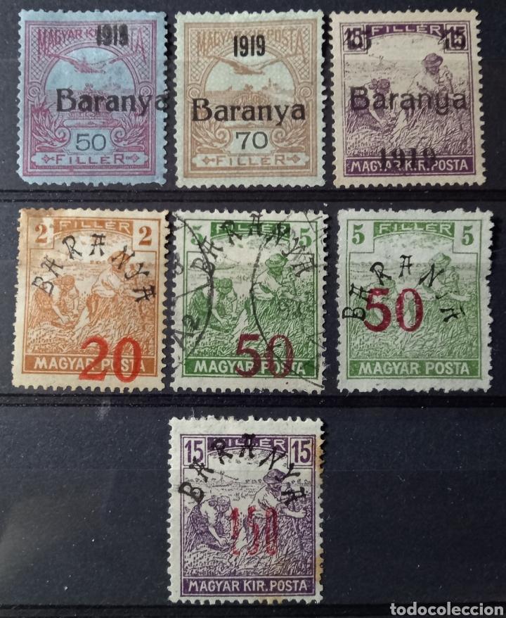 SELLOS DE LA OCUPACIÓN SERBIA DE HUNGRÍA (BARANYA) (Sellos - Extranjero - Europa - Hungría)