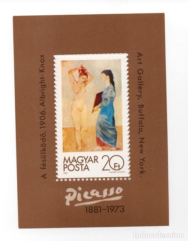 HUNGRIA - PINTURA - ANIVERSARIO NACIMIENTO PABLO PICASSO - 1 HB - AÑO 1981 - NUEVO (Sellos - Extranjero - Europa - Hungría)