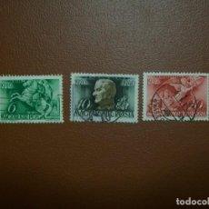 Sellos: HUNGRIA-1940-SERIE COMPLETA EN USADO/º/. Lote 235413950