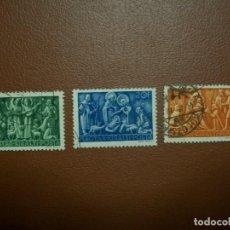 Sellos: HUNGRIA-1943-SERIE COMPLETA EN USADO/º/. Lote 235414150