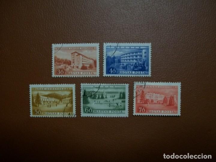 HUNGRIA-1953-SERIE COMPLETA EN USADO/º/ (Sellos - Extranjero - Europa - Hungría)
