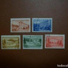 Sellos: HUNGRIA-1953-SERIE COMPLETA EN USADO/º/. Lote 235415965