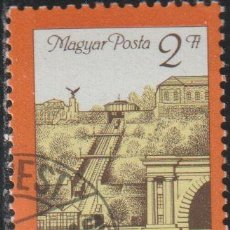 Sellos: HUNGRIA 1986 SCOTT 2986 SELLO * REAPERTURA DEL FUNICULAR DEL CASTILLO DE BUDA MICHEL 3821A YV. 3037. Lote 235599820