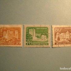 Sellos: HUNGRIA - CASTILLOS - EGERVAR Y OTROS.. Lote 236894605