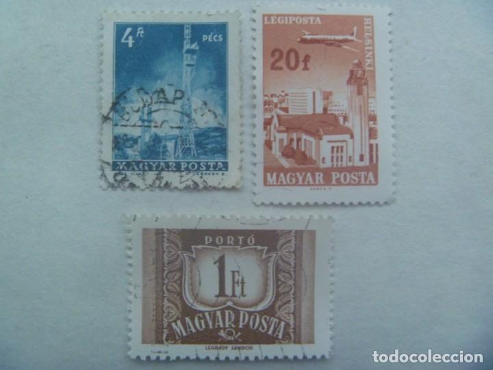 LOTE DE 3 SELLOS DE HUNGRIA, EPOCA COMUNISTA (Sellos - Extranjero - Europa - Hungría)