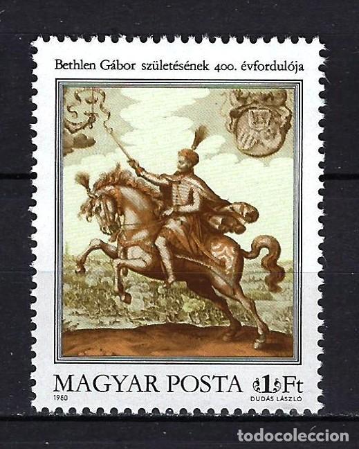 1980 HUNGRÍA MICHEL 3418 YVERT 2716 ANIV. GABOR BETHLEN MNH** NUEVOS SIN FIJASELLOS (Sellos - Extranjero - Europa - Hungría)