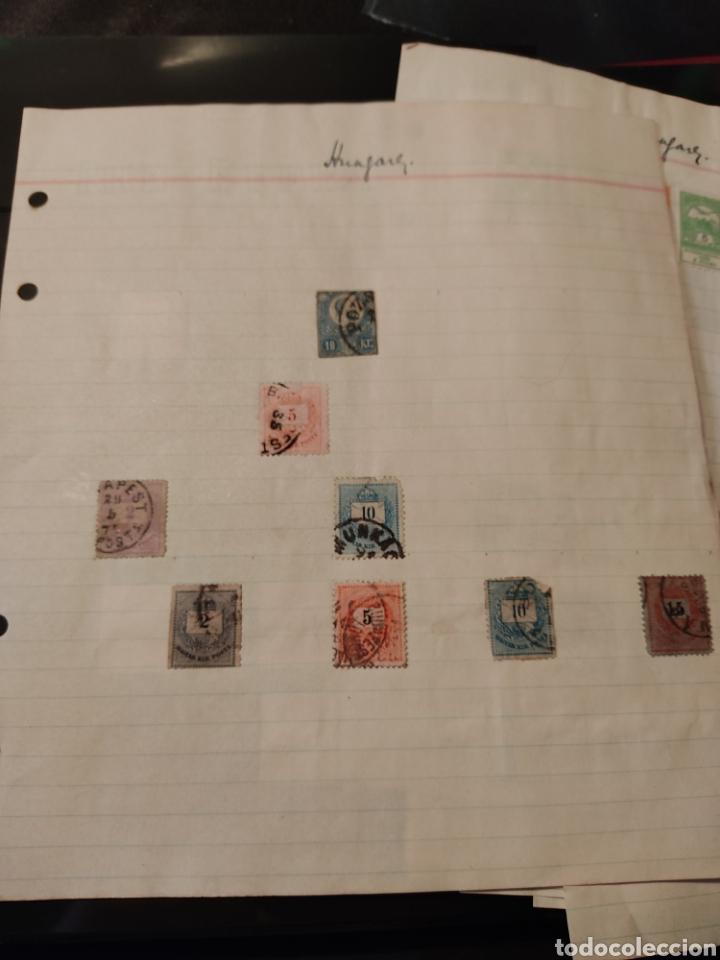 Sellos: Lote de sellos de Hungría periodo antiguo, mas de 130 - Foto 2 - 243524155