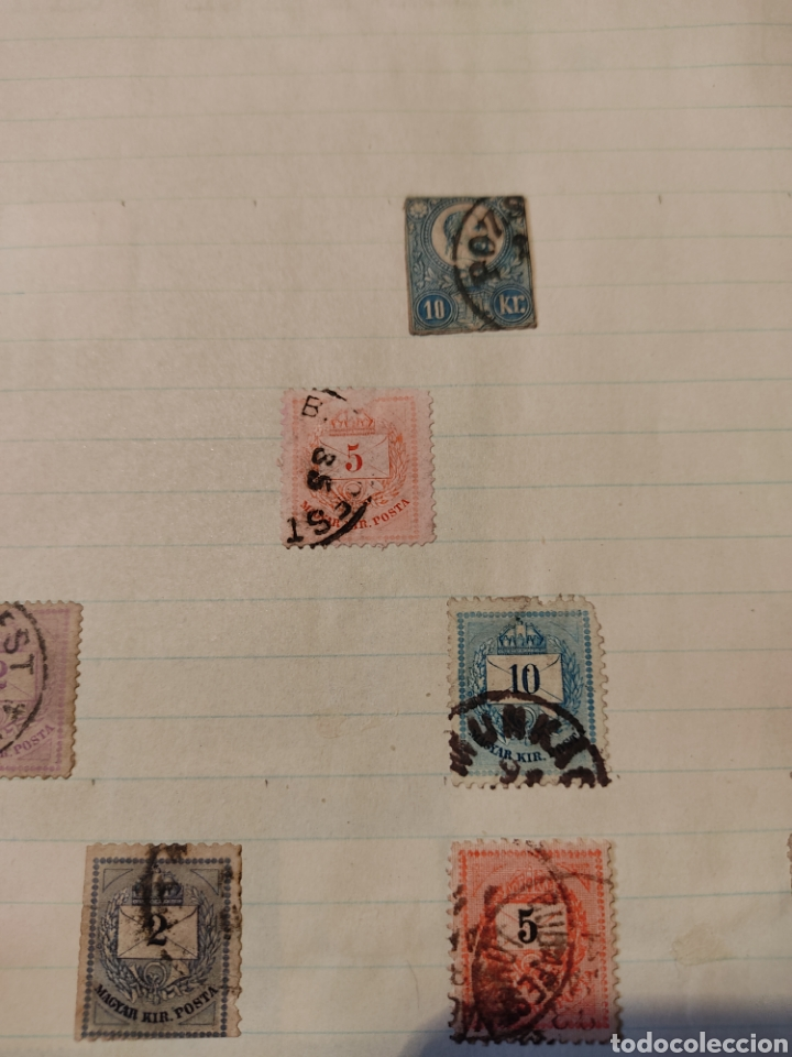 Sellos: Lote de sellos de Hungría periodo antiguo, mas de 130 - Foto 3 - 243524155