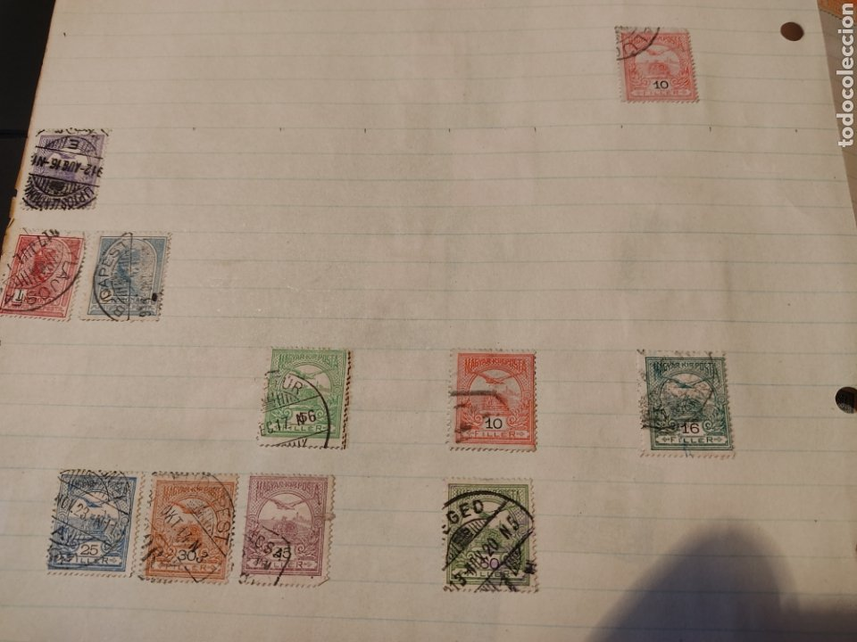 Sellos: Lote de sellos de Hungría periodo antiguo, mas de 130 - Foto 4 - 243524155