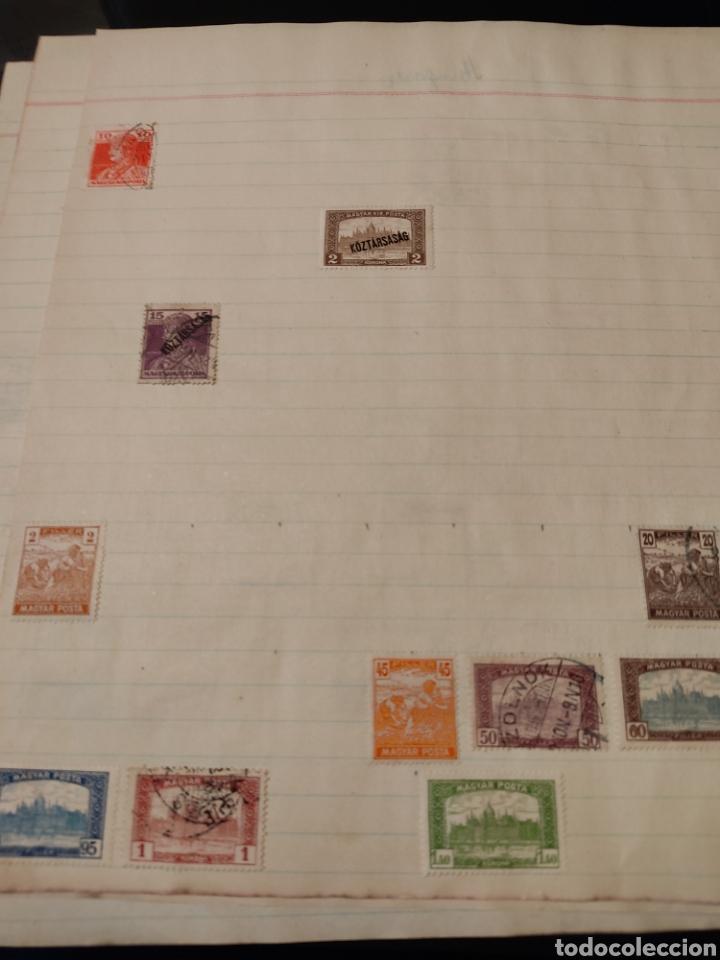 Sellos: Lote de sellos de Hungría periodo antiguo, mas de 130 - Foto 8 - 243524155