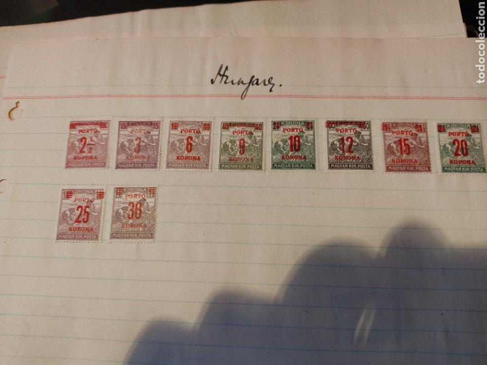 Sellos: Lote de sellos de Hungría periodo antiguo, mas de 130 - Foto 11 - 243524155