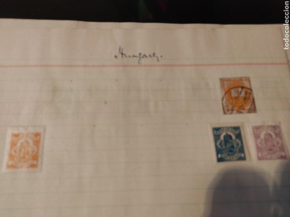 Sellos: Lote de sellos de Hungría periodo antiguo, mas de 130 - Foto 12 - 243524155