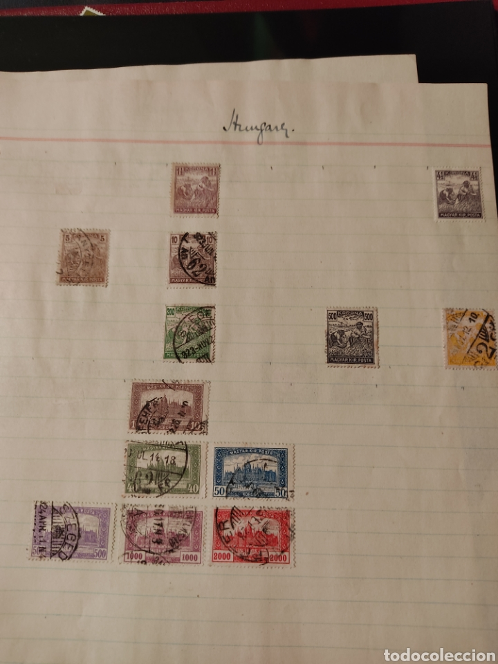 Sellos: Lote de sellos de Hungría periodo antiguo, mas de 130 - Foto 14 - 243524155
