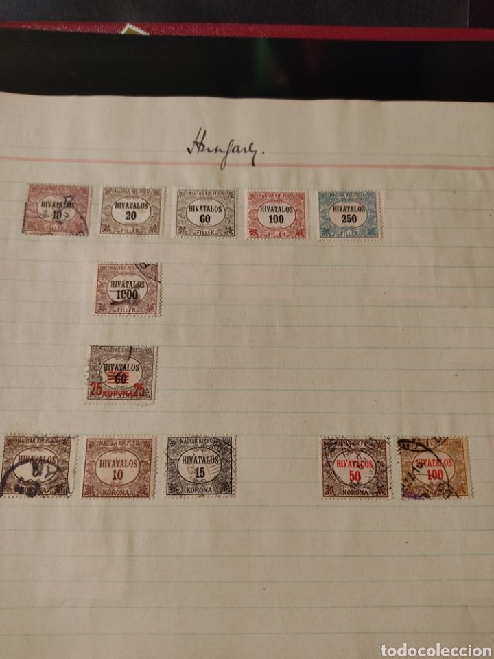 Sellos: Lote de sellos de Hungría periodo antiguo, mas de 130 - Foto 15 - 243524155