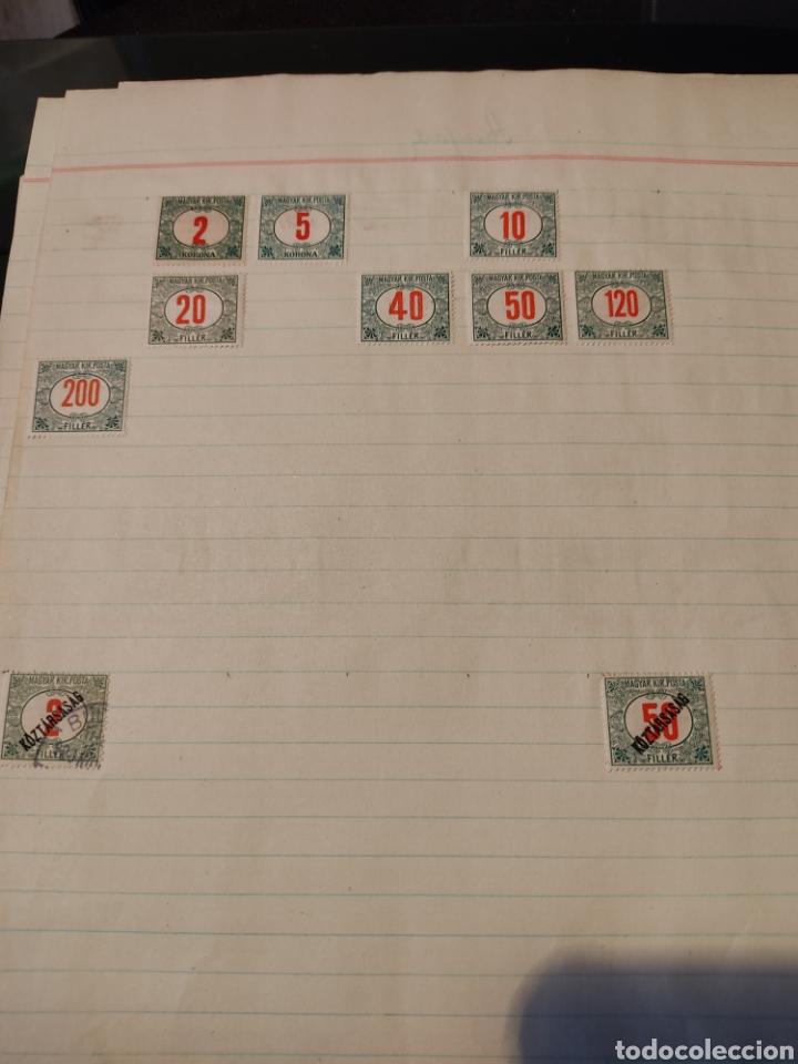 Sellos: Lote de sellos de Hungría periodo antiguo, mas de 130 - Foto 16 - 243524155