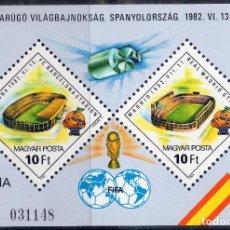 Sellos: HUNGRIA , 1982, , MICHEL BL155AI. Lote 245773695