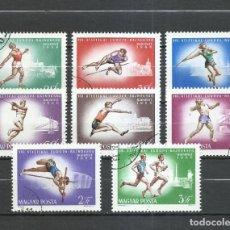 Selos: HUNGRIA - 1966 - MICHEL 2262/2269 - USADO. Lote 246902995