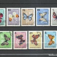 Selos: HUNGRIA - 1966 - MICHEL 2201/2209 - USADO. Lote 246903200