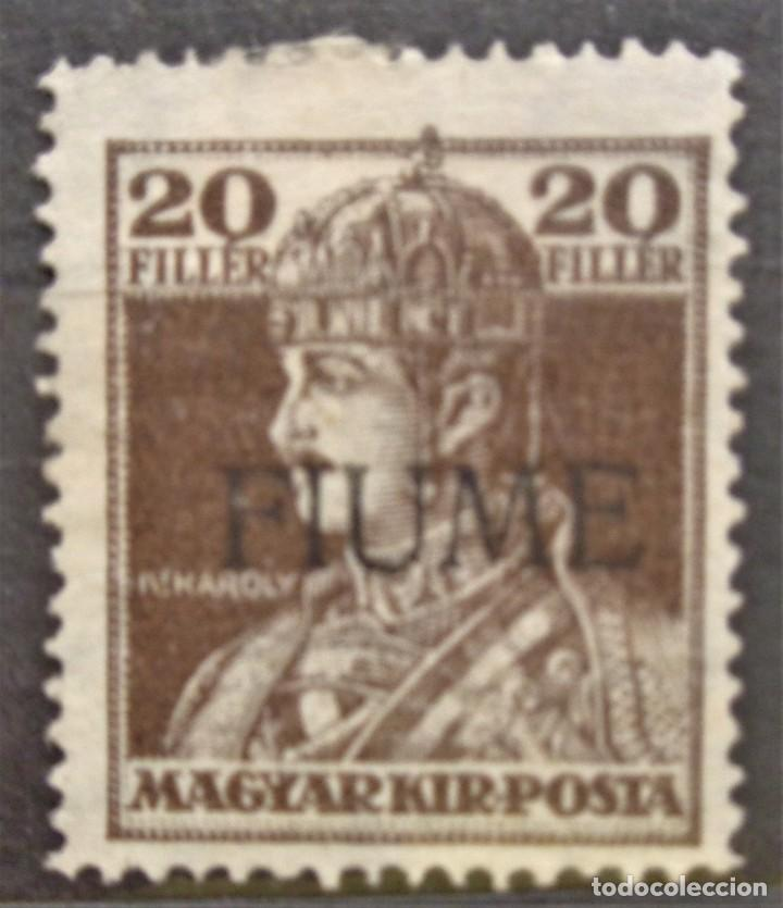 HUNGRIA FIUME (Sellos - Extranjero - Europa - Hungría)