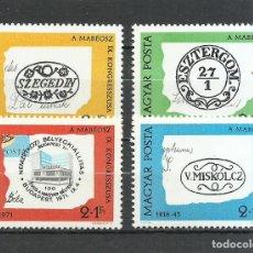 Selos: HUNGRIA - 1972 - MICHEL 2760/2763** MNH. Lote 250138770