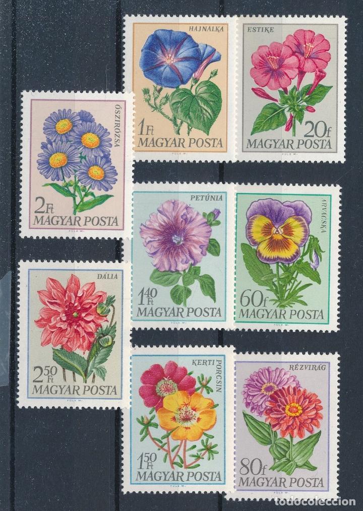 HUNGRIA 1968 IVERT 1993/2000 *** FLORA - FLORES DIVERSAS DE JARDIN (Sellos - Extranjero - Europa - Hungría)