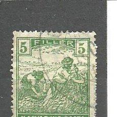 Sellos: HUNGRIA 1916 . YVERT NRO. 167 - USADO. Lote 261294870