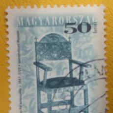 Sellos: HUNGRIA 2001. MI:HU 4563II, YT:HU 3814B,. Lote 277083978