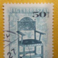 Sellos: HUNGRIA 2001. MI:HU 4563II, YT:HU 3814B,. Lote 277084418