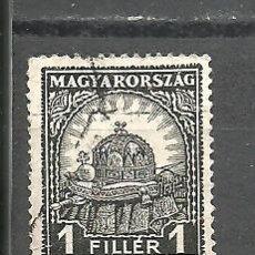 Sellos: HUNGRIA 1928 - YVERT NRO. 406 - USADO. Lote 278534508