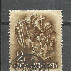 Sellos: HUNGRIA 1938 - YVERT NRO. 491 - USADO. Lote 278536853