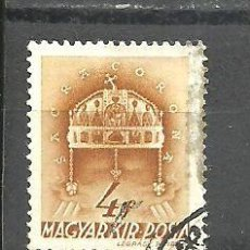Sellos: HUNGRIA 1939 - YVERT NRO. 526 - USADO - MANCHA. Lote 278537508