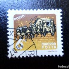 Sellos: *HUNGRIA, 1987, SERVICIO POSTAL A TRAVES DEL TIEMPO, SELLO DE TASA YVERT 247. Lote 287143648