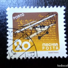 Sellos: *HUNGRIA, 1987, SERVICIO POSTAL A TRAVES DEL TIEMPO, SELLO DE TASA YVERT 250. Lote 287144068