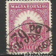 Sellos: HUNGRÍA - SELLO DE 8 FILLER DE 1929 - USADO. Lote 292371913