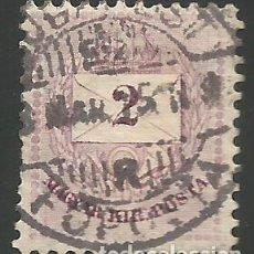Sellos: HUNGRÍA - SELLO DE 2 FILLER DE 1915 - USADO. Lote 292372943