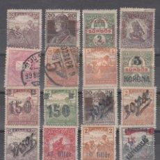 Sellos: HUNGRIA. CONJUNTO DE 17 SELLOS CON S/CARGAS VARIAS Y CALIDADES DIVERSAS.. Lote 293292333